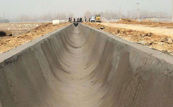 水渠施工案例