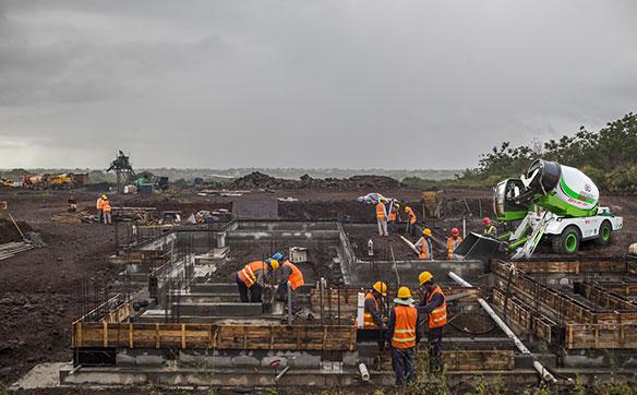 土建工程施工案例