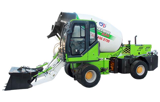 装载机式自动上料混凝土搅拌车的动力怎么样?